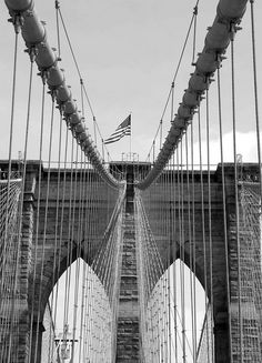 New York, Brooklyn Bridge,