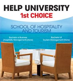 HELP UNIVERSITY Ultimate choice for hospitality and tourism Education