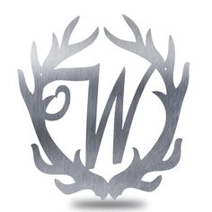 Monogram - Antler (Initial Only)