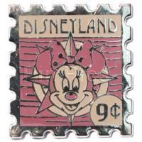 DLR 2008 Hotel Hidden Mickey Stamp Minnie 9 Cent Stamp Disney Pin 62924
