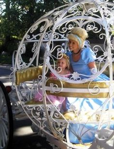 Princess Parties with a special carriage build for any little princess -- with real horses!