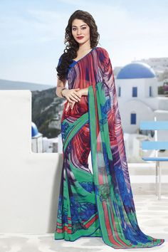 Multi Designer Party Wear Sarees From Onlinesareessshopping.com