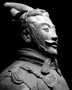 Terracotta warrior, Xian, China  Photo by Mark W. Patterson