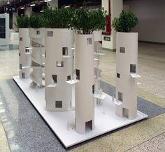 standardarchitecture: tree towers housing - designboom | architecture