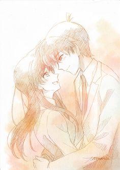 Ran And Shinichi, Kudo Shinichi, Detective Conan Ran, Anime Cupples, Kaito Kid, Detective Conan Wallpapers, Anime Girl Dress, Detektif Conan, Magic Kaito