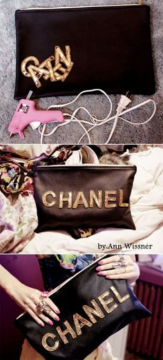 Chanel Oversized Pouch