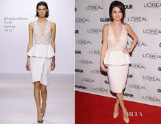 Selena Gomez In Giambattista Valli – 2012 Glamour Women of the Year Awards. Absolutely loving this outfit!