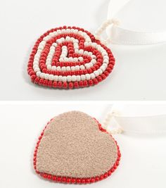 Bead Embroidery -clean edge tutorial