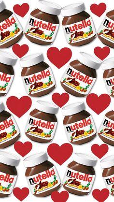 Wallpaper iPhone/Nutella ❤️                                                                                                                                                                                 Más