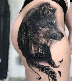 96 Mejores Imágenes De Tatuajes De Lobos