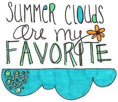 Summer clouds via Living Life at www.Facebook.com/KimmberlyFox.39