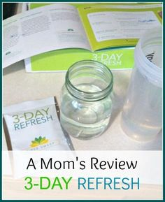 A mom's honest review of 3-Day Refresh fitness and health supplement and cleanse from Beachbody.