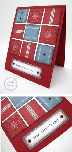 like this masculine card