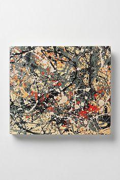 Jackson Pollock - Anthropologie.com