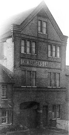 Chr. Hansen Laboratories, Reading, UK 1916. The Reading site was established to counter German impounding of overseas shipments thus securing national and international deliveries.