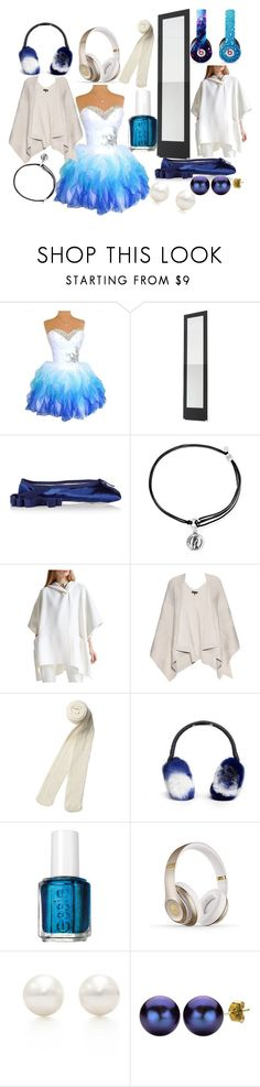 """""""Lavish"""" by marissarednose ❤ liked on Polyvore featuring Ballet Beautiful, Alex and Ani, Halston Heritage, rag & bone, Monki, Maison Michel, Essie, Beats by Dr. Dre, Tiffany & Co. and DaVonna"""