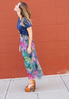 Floral and platforms
