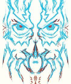 """Creature feature"" #streetstyle #graffiti #urbanart #timelordforhire #luchalibre #halloween #hhn #mask #spider #conspiracytheory #creature #cryptid #fiction #fantasy #doctorwho #darkside #sketch #art #ginger #lefthandedartist #horror #blue #eyes #orlandoartist #orlando #red #blue #illustration"
