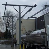 Sure-Rail T-Frame Fall Arrest for Truck Fall Protection