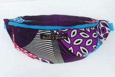 African fabric Bumbag Fanny pack Hip bag in hot by ButchiandGosmos, £18.00