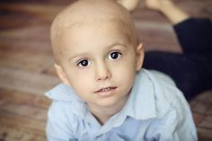 Samuel Grady, 3, was diagnosed last July with acute lymphoblastic leukemia. His mother, Pauline Grady, sent us this photo.