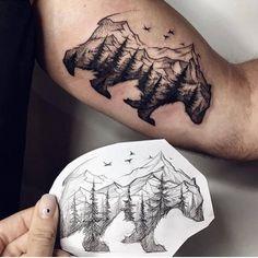 8d82067e1 15 best tattoo images on Pinterest | Mountain sleeve tattoo ...