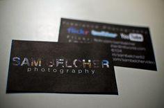 60 Photography Business Cards Inspirations - Smashfreakz