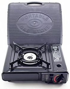 Amazon.com: Ridge Rock Tools Portable Gas Stove, Black: Sports & Outdoors Camping Stove, Camping Gear, Camping Hacks, Camping Kitchen, Camping Cooking, Outdoor Cooking Stove, Outdoor Stove, Survival Stove, Portable Gas Stove