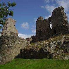 Montgomery Castle: Powys, Wales