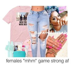 """""""Bryson Tiller x Run Me Dry 🌸🦋"""" by xrated-trends ❤ liked on Polyvore featuring Floyd, Casetify, Puma, Chicnova Fashion and MAC Cosmetics"""