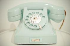 Telefone Verde Água