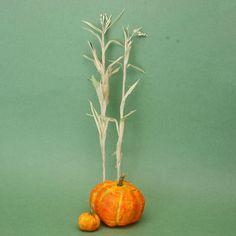 Make Scale Miniature Corn Stalks