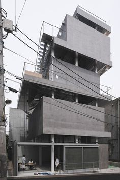 JINGUMAE BUILDING • 2012 •  Tokyo, Japan • by Chuoarchi •  www.chuoarchi.com