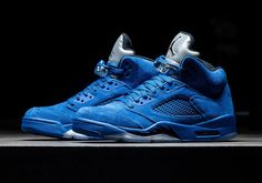 """#sneakers #news  Jordan Brand Completes The """"Flight Suit"""" Collection With Tomorrow's Air Jordan 5 """"Game Royal"""""""