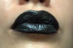 Black Lipstick  Nourishing  Tulipe Noire All by FierceMagenta, $7.00