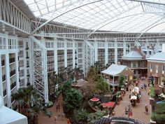 Opryland Hotel in Nashville, TN..favorite Hotel of all!