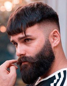 Beard Styles For Men, Hair And Beard Styles, Hair Styles, Beard Look, Sexy Beard, Man Beard, Latest Haircuts, Haircuts For Men, Men's Haircuts