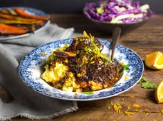 http://www.seriouseats.com/tags/braise - short ribs with honey, siy and orange