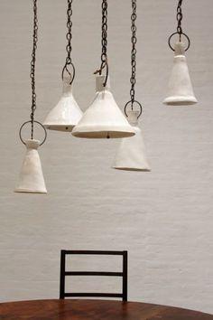 Natalie Page Ceramic Lamps - Remodelista
