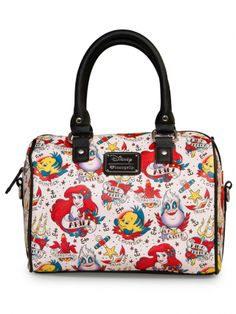 Loungefly Disney The Little Mermaid Ariel Juego de bolso y cartera