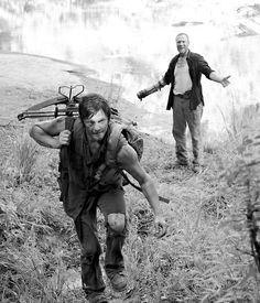 Merle & Daryl Dixon: I love how these two are reacting in such different ways... says a lot about these two characters