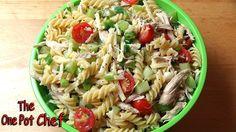 Light & Tangy Pasta Salad | One Pot Chef