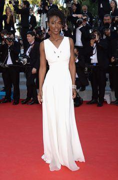 C'est Cannes! - Aissa Maiga Cannes 2014