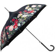 Floral Pagoda Ladies Umbrella