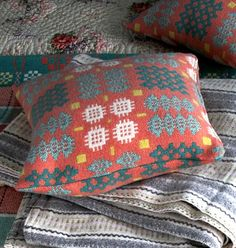 blodwen tapestry cushion