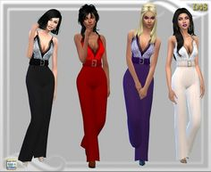 Jumpsuit at Dreaming 4 Sims • Sims 4 Updates