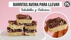 BARRITAS ENERGETICAS: AVENA, MANI Y CHOCOLATE | SALUDABLES