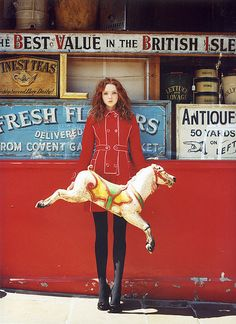 Lily Cole - Italian Vogue by iainmckell, via Flickr