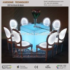 illuminated glowing led banquet table for dinner, View hotel banquet tables, awesome Product Details from Shenzhen Awesome Technology Co., Ltd. on Alibaba.com