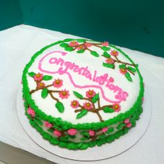 Cake Decor Hobby Lobby : Class 4 Advanced Sugar Flowers on my student s cake ...